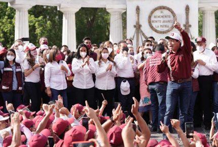 'La derecha' y medios minimizan triunfo de Morena, acusa Delgado