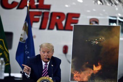 Incendios en EU, por mala gestión en bosques: Trump