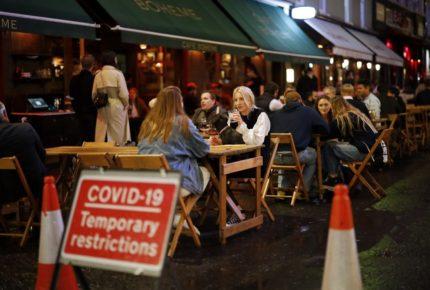 Reino Unido registra más de 6 mil casos de Covid-19 en 24 horas