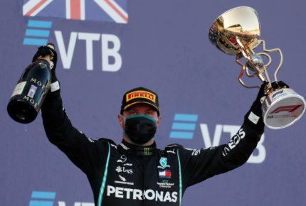 Bottas gana el GP de Rusia