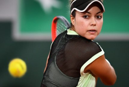 ¡Se acaba el sueño! Eliminan a Renata Zarazúa del Roland Garros