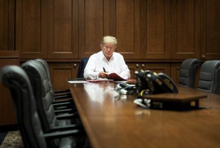 'Durante la jornada' médicos decidirán alta de Donald Trump