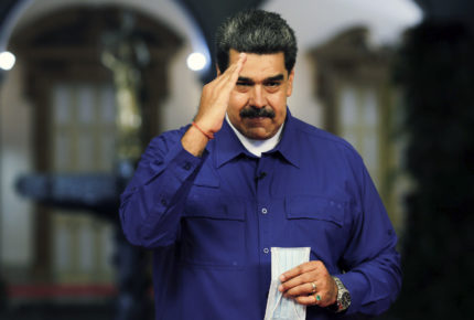 Maduro felicita a Luis Arce por triunfo en Bolivia