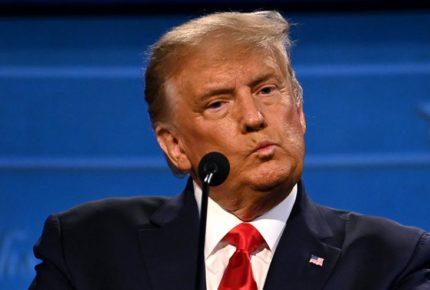 Abandona Trump entrevista por el 'tono' de las preguntas