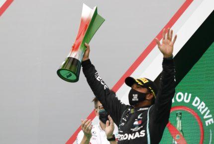 Hamilton se convierte en el piloto con más victorias en la F1
