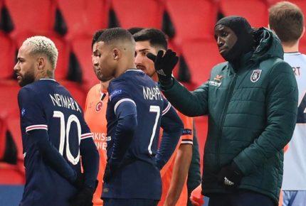 Suspenden juego entre PSG y Estambul por insultos racistas