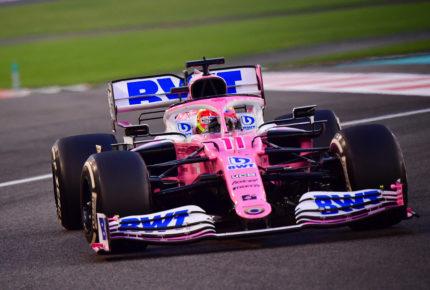 """En su última carrera, """"Checo"""" abandona el GP de Abu Dabi"""