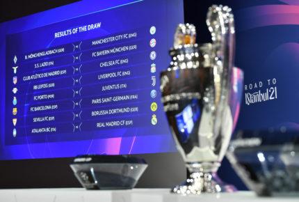 Programa de octavos de final de la Champions League
