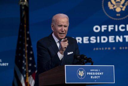 Biden presentará plan de estímulo para EU por 1.9 billones