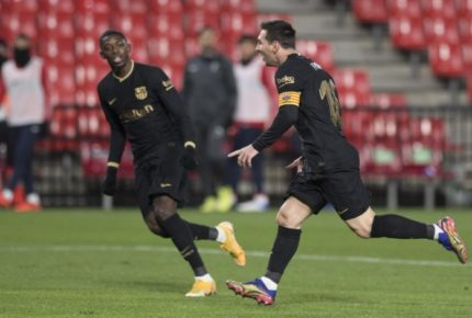 Barcelona gana y suma ocho partidos sin perder