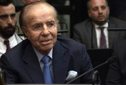 Murió Carlos Menem, expresidente de Argentina
