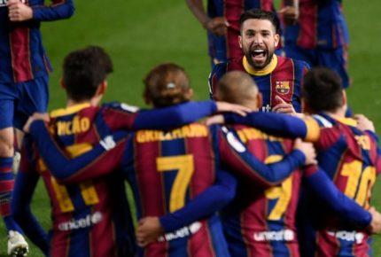 ¡Finalista! Barcelona remonta para la final de la Copa del Rey