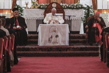 """""""Que callen las armas"""", dice el Papa en su visita a Irak"""