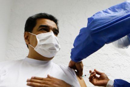Maduro recibe la vacuna Sputnik V contra la covid-19