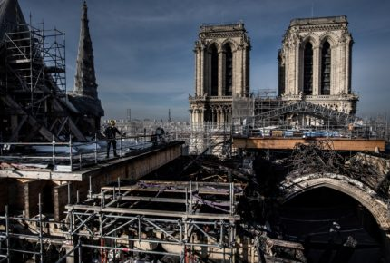 Notre Dame, largo camino para la reconstrucción