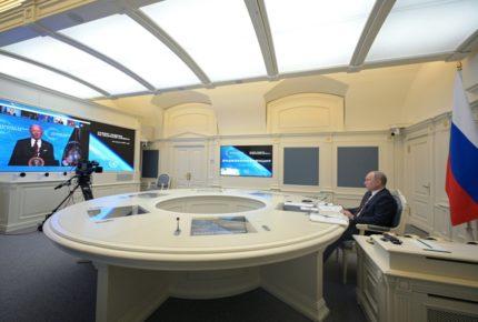 """Putin y Biden podrían reunirse """"en junio"""", según el Kremlin"""