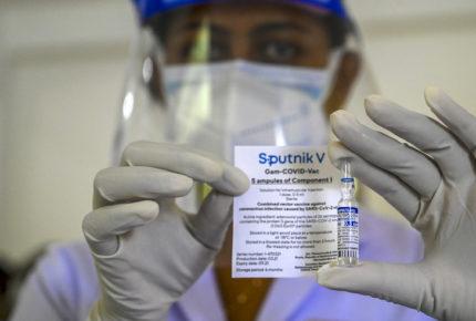 Rusia registra su vacuna Sputnik 'Light' de una dosis