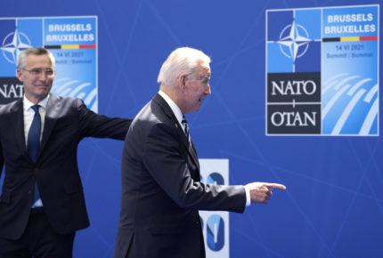 """Biden pide a la OTAN abordar unidos los """"nuevos desafíos"""""""