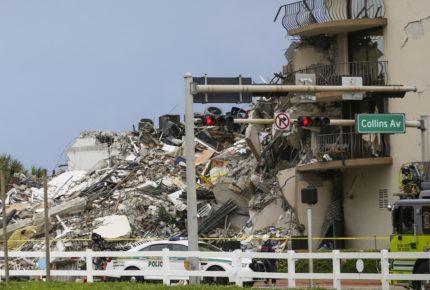 Suman 46 víctimas mortales de colapso de edificio en Miami