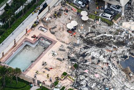 Sube a 94 la cifra de muertos por desplome de edificio en Miami