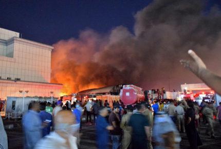 'Vinieron para curarse y salen en féretros' por incendio en hospital