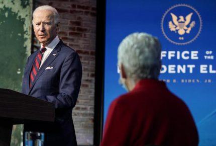 Biden presenta a su equipo para enfrentar cambio climático