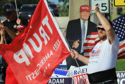 En el 'Día del Presidente' muestran apoyo a Trump