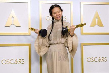 """""""Nomadland"""" y Chloé Zhao hacen historia en los Oscar"""