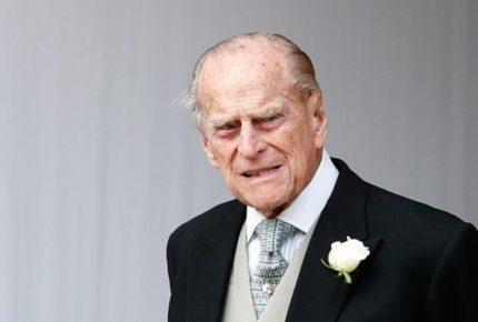 Hospitalizan al esposo de la Reina Isabel II