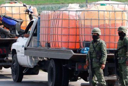 """Fiscalía de Guanajuato dice que el  """"huachicoleo"""" sigue desde Pemex"""
