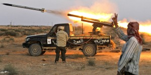 Outdated Vehicles And Technology Assist The Libyan Rebel Movement