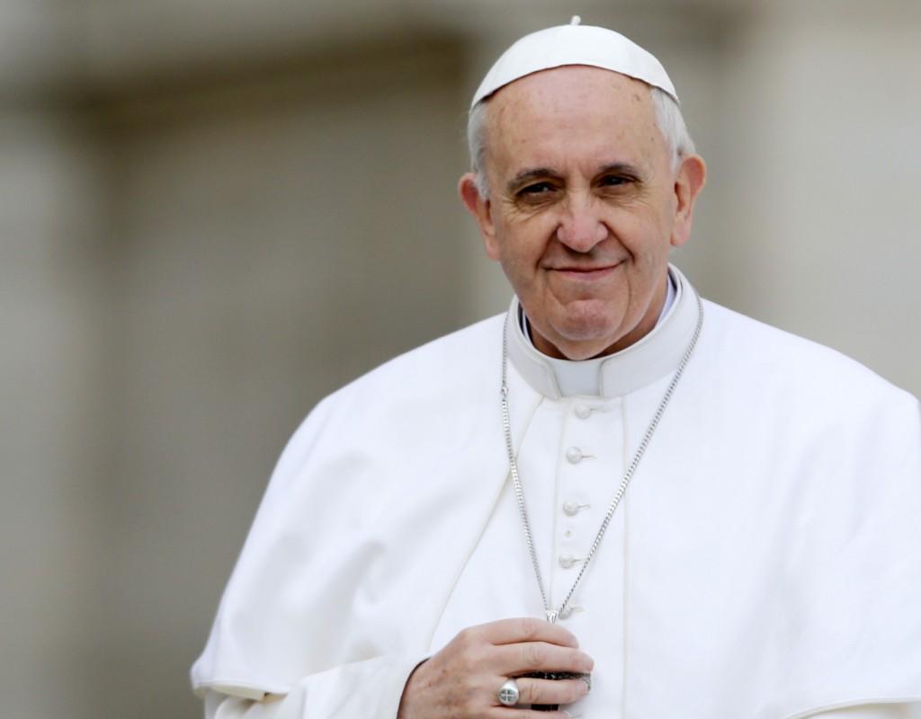 """""""¡Te estaba esperando!"""": Papa Francisco a Maradona"""