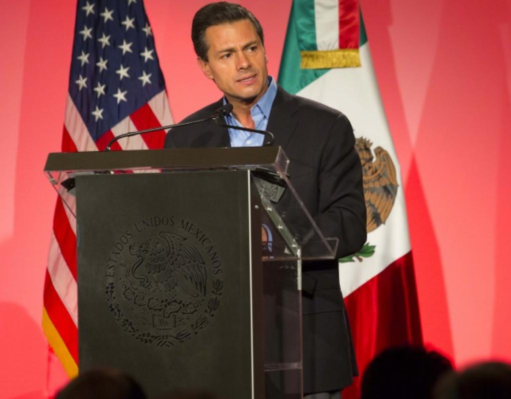 Peña Nieto recibirá premio Ciudadano Global en Nueva York
