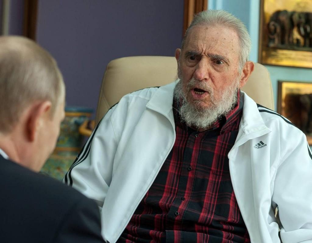 Fidel Castro se le fue encima a OTAN, EU y UE
