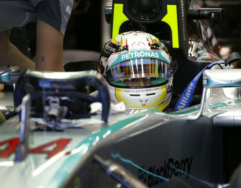 Hamilton, el más rápido en las pruebas del GP de Singapur