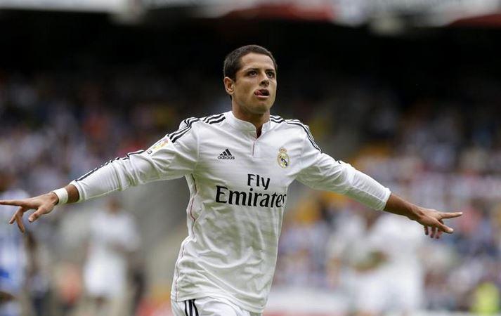 'Chicharito' mete dos goles con Real Madrid