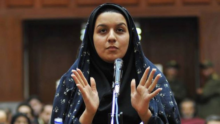 Irán ahorca a mujer que mató a su violador
