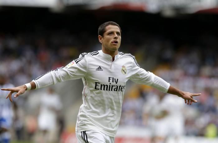 'Chicharito' metió el mejor gol de septiembre en España