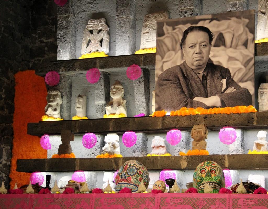 Espíritu de Diego Rivera ronda el museo Anahuacalli