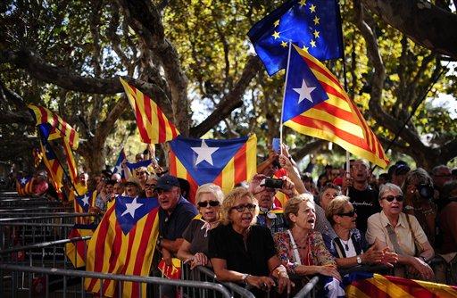 Avanza la convocatoria para referendo separatista