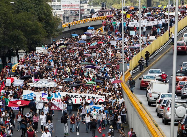 México: Brincarse las trancas