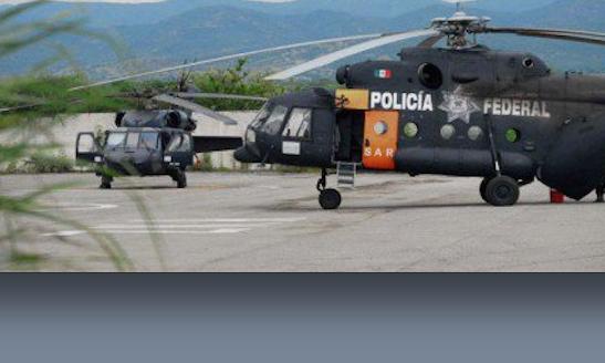 Fuerte operativo de Sedena, Marina y PGR en Cocula