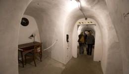 Italy Mussolini Wine Cellar Bunker