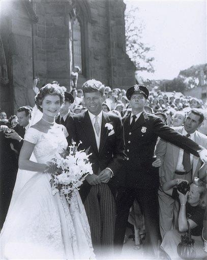 Subastarán fotos de la boda de JF Kennedy