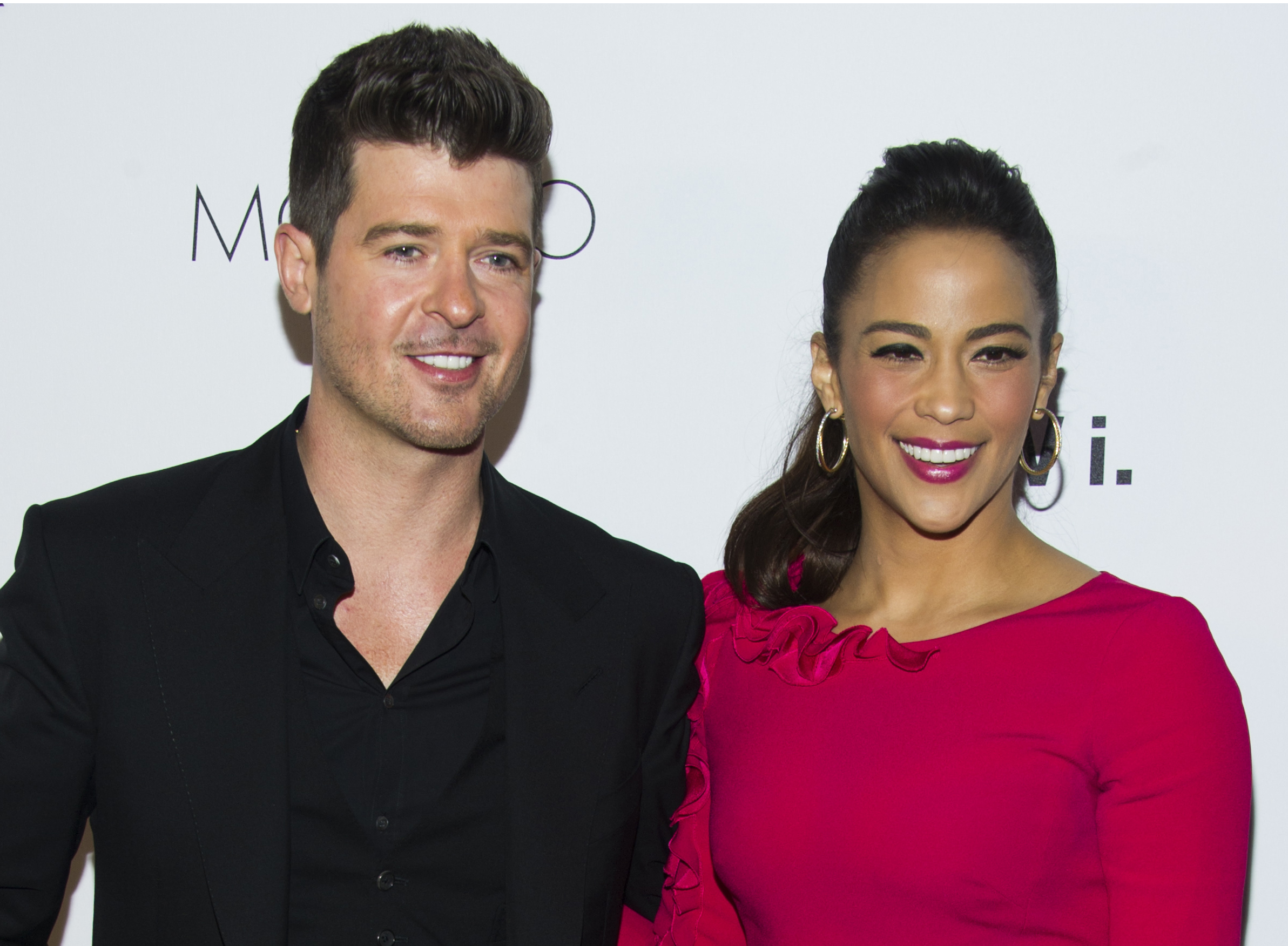 Robin Thicke se divorcia de Paula Patton