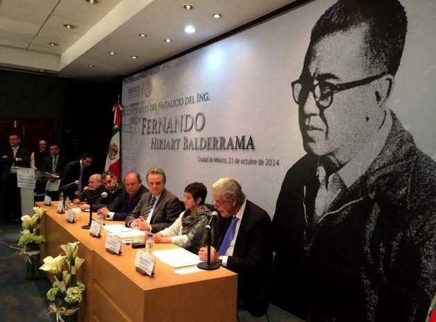 Emotiva ceremonia por centenario del nacimiento de Fernando Hiriart
