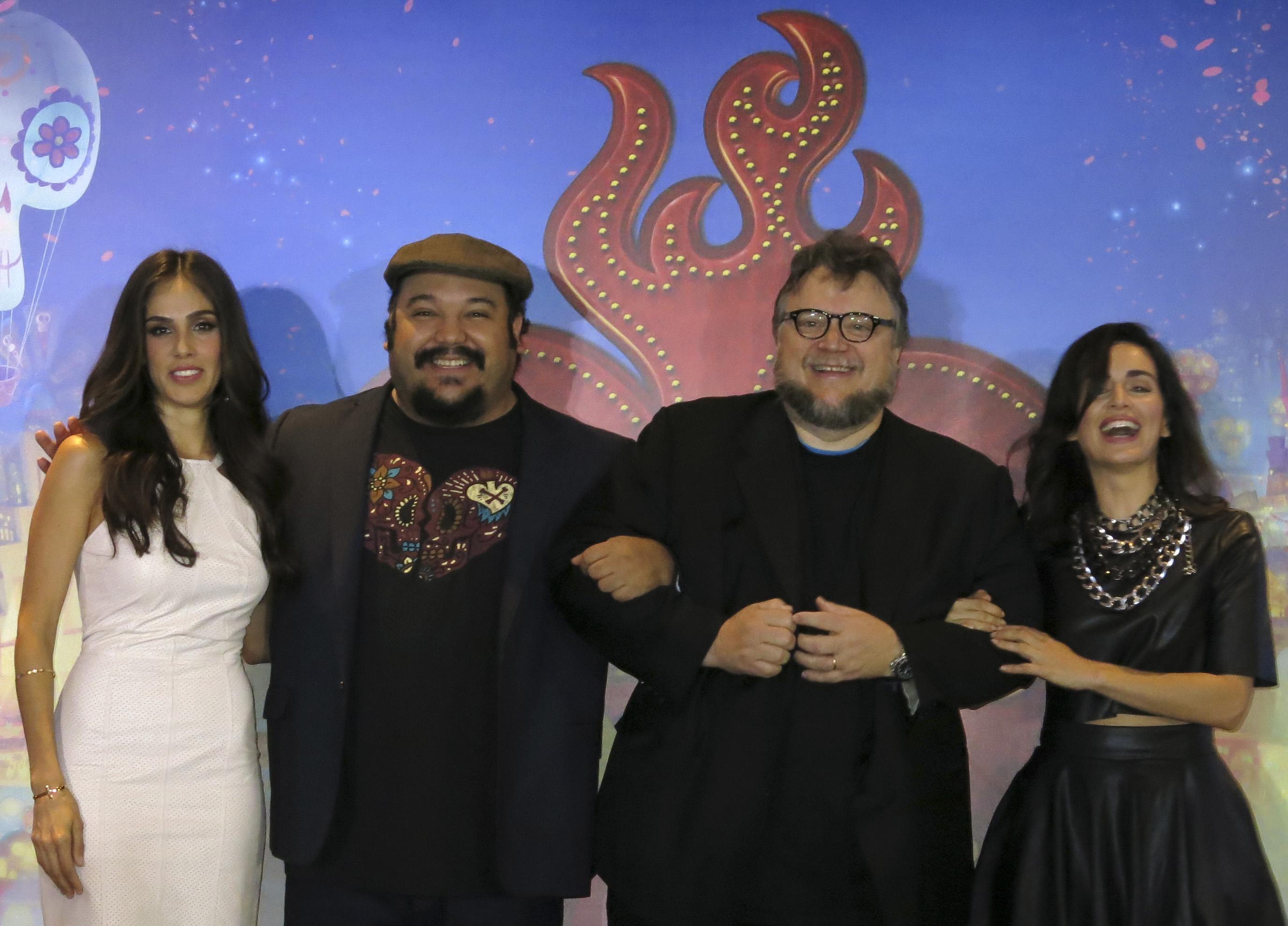 Del Toro: 'El libro de la vida' tiene identidad mexicana