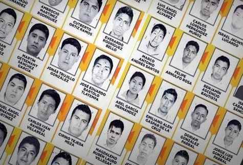 Para que no se olviden a los 43 normalistas de Ayotzinapa