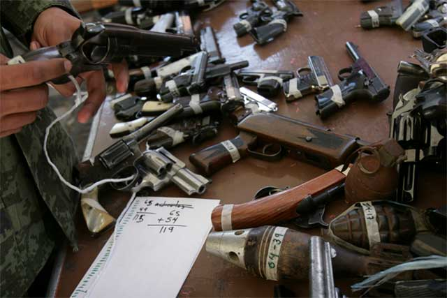 Ponen más 'candados' a importación de armas