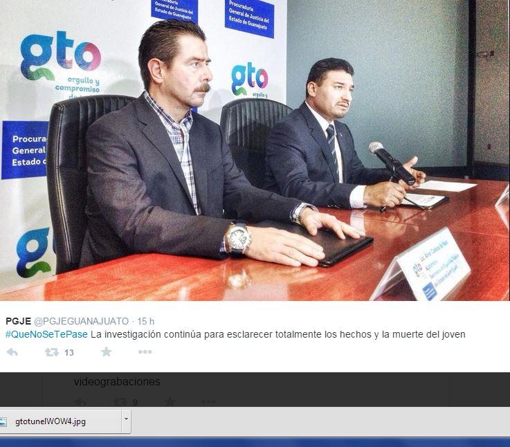 Muerte de estudiante en Guanajuato fue accidental: PGJE